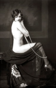 Ziegfeld Model Risque - 1920s - by Alfred Cheney Johnston