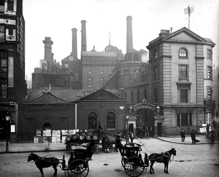 beer flood inundação de cerveja meux brewery london 1906